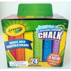 Gis Crayola Gigante 24 colores