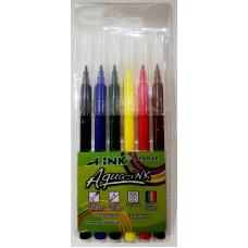 Marcador A-ink Aqua-ink APAD6-E ( 6 Colores )