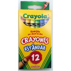Crayon Crayola Regular c/12
