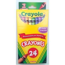 Crayon Crayola Regular c/24