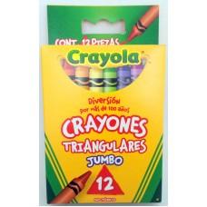 Crayon Crayola Jumbo Triangular c/12