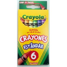 Crayon Crayola Regular c/6