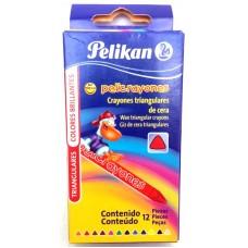 Crayon Pelikan Regular Triangular c/12