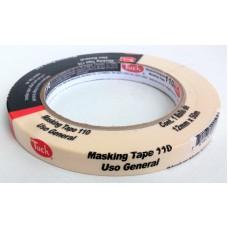 Cinta Masking Tape Tuck 12 mm x 50 mts
