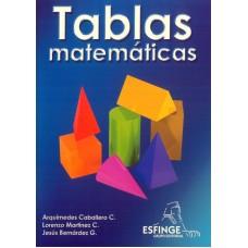 Tablas Matematicas Arquimedes Caballero