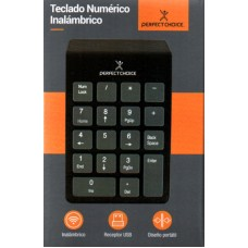 Teclado Numerico Inalambrico Perfect Choice PC-201014