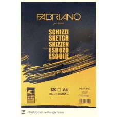 Block Sketch Fabriano A4 90 grs