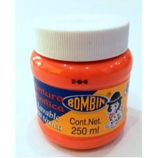 Pintura Bombin 250 ml Naranja