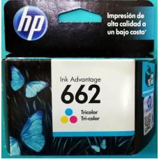 Cartuchos HP 662 Color