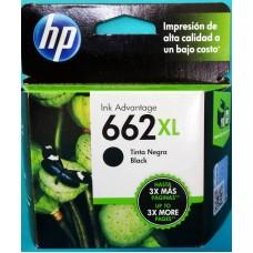 Cartuchos HP 662 xl Negro Alta Capacidad