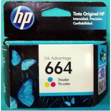 Cartuchos HP 664 Color