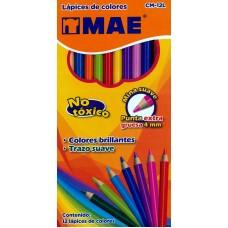 Colores MAE Redondos 12 colores