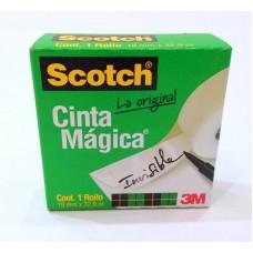 Cinta Magica 3M Scotch 19 mm x 32.9 mts